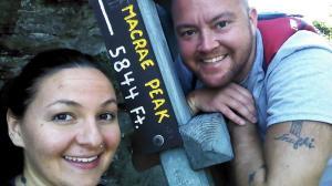 Macrae Peak on Grandfather Mountain in NC